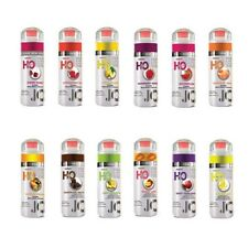 System JO H2O Flavored Lubricant Sexy Personal Water Based All Flavored Lube