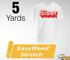 "Siser Easyweed Stretch Heat Transfer Vinyl Material 15"" x 5 yards - 12 COLORS"