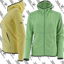 ARCTERYX WOMENS 5924 RAMBLER HOODY CORDED LIGHT WEIGHT FLEECE JACKET MEDIUM 8-10