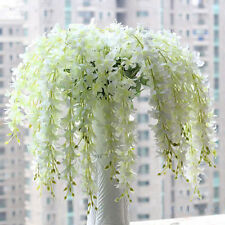 1Pc Artificial Wisteria Silk Flower Home Party Wedding Garden Floral Decoration