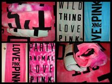 Victoria's Secret Love Pink Beach Bath Towel All colors party animal wild thing
