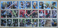 Star Wars Force Attax Clone Wars Series 5 Strike Force Card Selection #102 - 128