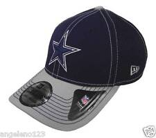 NEW ERA Men's 39Thirty Dallas Cowboys Hat Cap 2Tone Neo NFL OT Flex Fit Blue