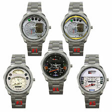 HOT NEW ITEM RARE VESPA GTS 250 SP LML STELLA SPEEDOMETER SPORT METAL WATCH