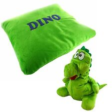 New Kids Childrens Reversable Soft Plush Pillow Cuddle Animal Cushions Toys Pet