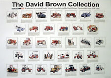 David Brown Tractors 'The Collect' Poster Print Picture Poster A1 Aprox