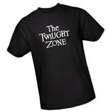 THE TWILIGHT ZONE - The Hit TV Show Logo Pictured -- Adult Size T-Shirt