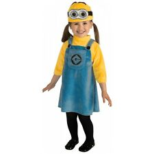 Female Minion Costume Baby Despicable Me Halloween Fancy Dress
