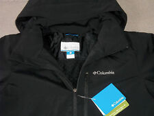 NEW COLUMBIA JACKET SOFT SHELL INSULATED FLEECE OMNI SHIELD BK MEN'S FREE SHIP
