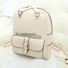 Women/Lady Faux Leather Backpack Satchel School Shoulder Bag Handbag Fashion New