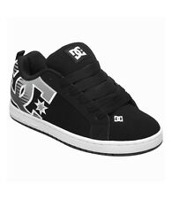 DC - COURT GRAFFIK SE Mens Shoes (NEW) Black & Grey SKATE FOOTWEAR Free Shipping