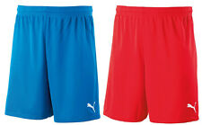 New Men's Puma Velize Shorts - Sports Gym Football Running Casual - Blue & Red