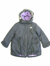 Girls Ex-Chain Store Grey Coat with Removable Hood Style 06136970