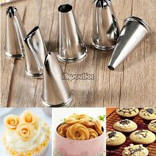 Icing Piping Nozzles Pastry Tips Cake Bakery Sugarcraft Decorating Tool Set New
