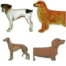 Beautiful Dog Embroidery Iron On Patches  Collection : (D-J )