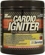 Top Secret Nutrition CARDIO IGNITER 35 Servings BURN FAT BUILD MUSCLE