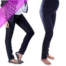 Maternity Skinny Trousers Jeggings Jeans Pregnancy Over Bump