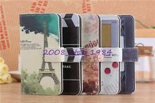7 Elegant Wallet Flip PU Leather Case for Samsung Galaxy Young GT-S6310