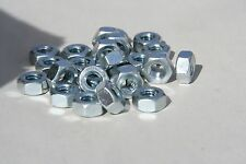 25 PIECES YOUR CHOICE  M6 THRU M8-1.00 STAINLESS STEEL METRIC HEX NUTS A-2