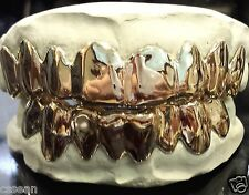 Sterling Silver Custom fit Grillz Plain Silver teeth REAL Grill Grillz.