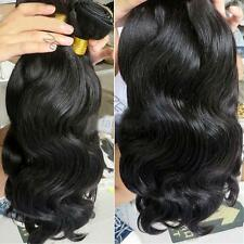 100% Weft Hair Virgin Brazilian Bundle Hair Remy Human Hair Weave Extensions