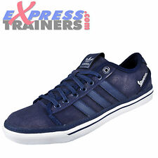 Adidas Originals Mens Vespa Lo Casual Classic Retro Trainers Navy * AUTHENTIC *