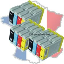 12 Cartouches-ink encre compatible imprimante Brother LC970 LC1000 DCP750CW