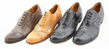 Levi's Mens Capital E Casual / Dress Low Cut Leather Sole Shoes Made in Italy