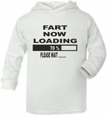 Fart Now Loading Poop Funny Cute Present Baby New Born Gift   Supersoft Baby Hoo