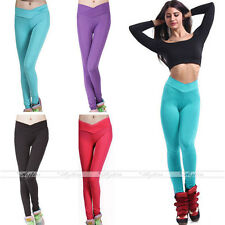 Sexy Leggings Fluo Pantalon Jambières Femmes Collant Pant Yoga Skinny Slim Hot