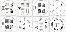 Konad Styled Image Plate Nail Art Stamping - M Series - List #2
