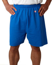 Champion Classic Cotton Gym Shorts Workout Exercise Sports Men's New 6'' 8187