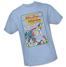 Wonder Woman - SUPER-HEROINE NUMBER ONE! Cover #212 -- Adult T-Shirt