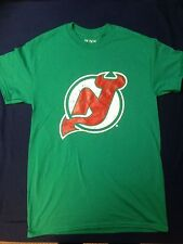 NEW NJ Devils Vintage Retro Green T Shirt - Comes with 2 FREE Stickers!