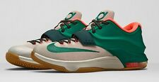"Nike Basketball KD 7 ""Easy Money"" Mystic Green/Light Brown 653996-330 SZ: 4Y-15"