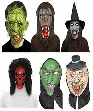 FANCY DRESS SCARY HORROR EVIL ORC GORILLA LATEX WITCH COSTUME HALLOWEEN MASKS