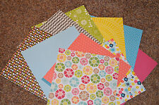 NEW ~ BEAUTIFUL Thick Double Sided Cardstock Paper 12 X 12  (10-pcs/2ea) Lot #1