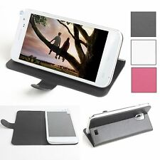 """New Brand For 5"""" Doogee Voyager2 DG310 Smartphone Stand Leather Cover Case Skin"""
