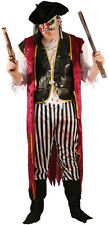Halloween-Horror-ZOMBIE PIRATE CAPTAIN-SHIP MATE XL Great Fancy Dress Outfit