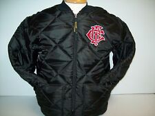Chicago Fire Department CFD Letter Nest Black Diamond Quilted Jacket