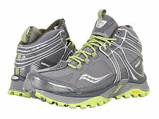 NIB Saucony Adventerra GTX Women's Hiking Boots Shoes Size 8 8.5 9 9.5 $170 Grey