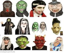 CREEPY ADULT FANCY DRESS SCARY SINISTER CIRCUS  MASK HALLOWEEN/Party
