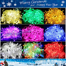 10M/20M 100/ 200LED Bulbs Christmas Fairy Party Deco String Lights Waterproof