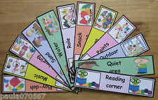 Activities / Toy areas labels~full colour cards~Childminder~Nursery~Pre-Schools~