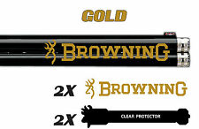 Browning Vinyl Decal Sticker For Shotgun / Rifle / Case / Gun Safe / Car B5B
