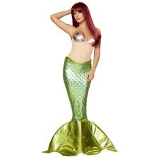 Mermaid Costume Adult Womens Sexy Halloween Fancy Dress