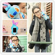 Funny 3D Cute Cartoon Dog Plush Toy Doll Skin Case Cover For HTC Cell Phones
