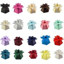 Exploding Poinsettia Christmas Table Favour Box, Party, Wedding. 20+ Colours.