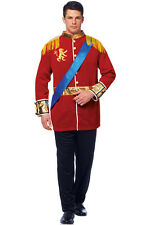 Brand New Classic Royal Prince Charming Fairytale Adult Costume