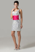 Attractive Sequins Sexy Homecoming Cocktail Prom Party Queen Evening Short Dress